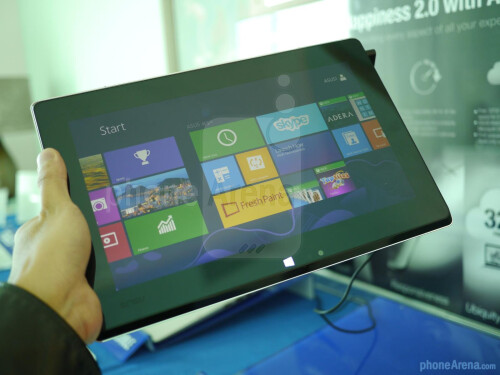 Asus Taichi hands-on