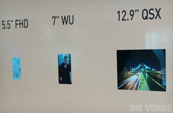 LG's displays at CES 2013
