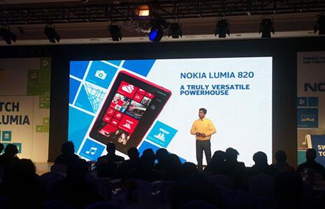 The Nokia Lumia 920 and Nokia Lumia 820 launches in India - Nokia Lumia 920, Nokia Lumia 820 are launched in India; Nokia Lumia 620 to be released next month