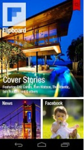 Screenshots from Flipboard