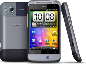 2011's HTC Salsa had limited Facebook integration, but had a cool Facebook button