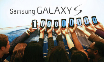 100 million Samsung Galaxy S phones have been sold