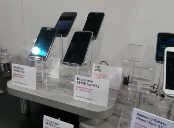 Exynos chip out, Broadcom is in for the Samsung Galaxy S II Plus and Grand Duos