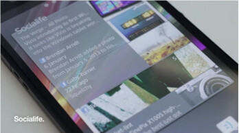 Sony replacing Timescape with Socialife starting with Xperia Z