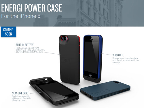 Tylt Energi Power Case for the iPhone 5