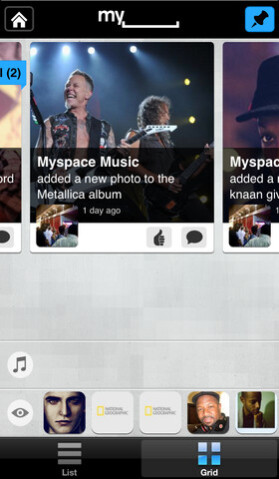 "The ""new"" MySpace and apps"