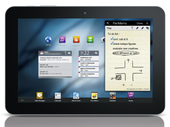 Apple claims that the rounded corners on the Samsung GALAXY Tab 8.9 copy its design