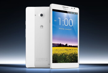 A 6.3 inch Samsung GALAXY Note II would top the 6.1 inch Huawei Ascend Mate