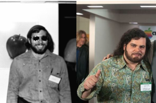 Woz shows up in new jOBS production stills