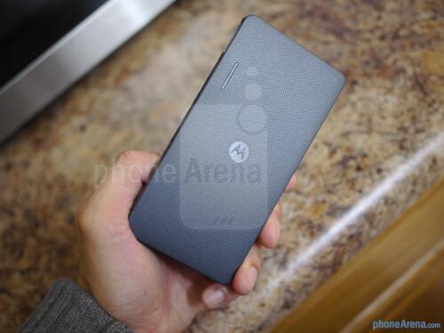 Motorola P4000 Universal Portable Power Pack hands-on