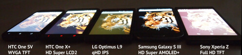 Sony Xperia Z screen comparison, more camera samples emerge