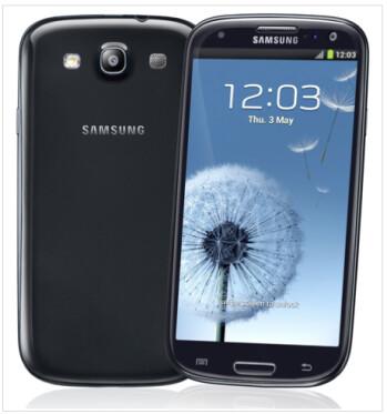 The Sapphire Black Samsung Galaxy S III