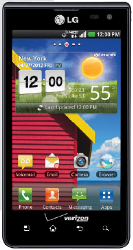 The LG Lucid - Verizon to soon push out updates for the LG Lucid and the Samsung Galaxy Tab 7.7
