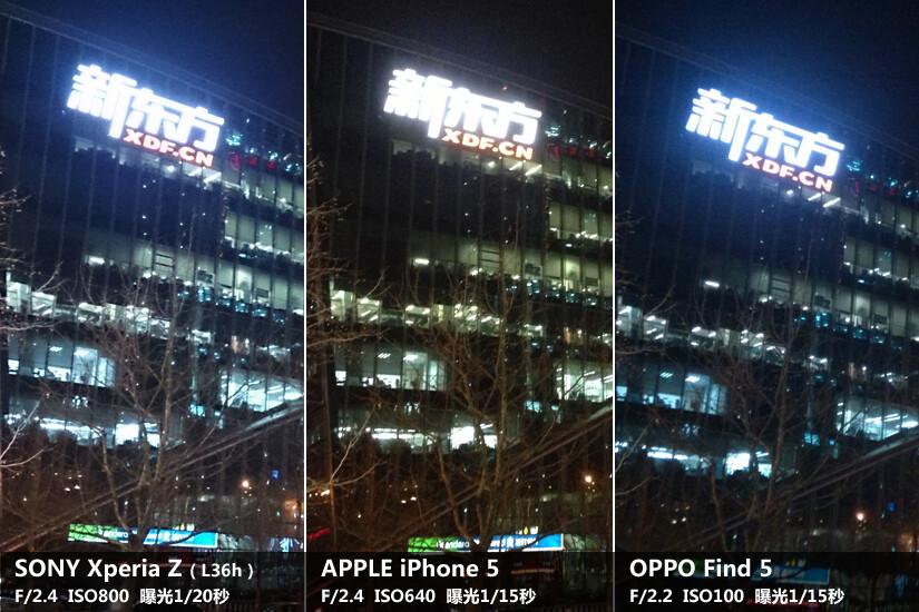 Sony Xperia Z vs Apple iPhone 5 vs Oppo Find 5 camera ...