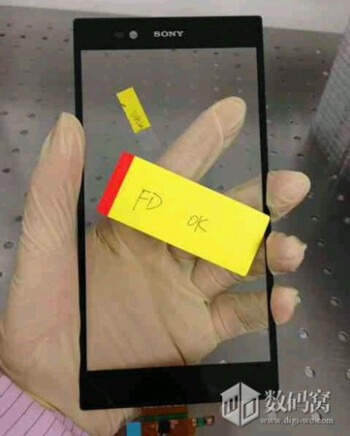 "6.44"" Sony panel pops up, makes us hopeful for MWC"