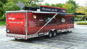 It cost Verizon money to roll out its mobile trucks in aftermath of Hurricane Sandy