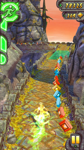 Temple Run 2 builds on the success of the original with updated visuals and new gameplay mechanics.