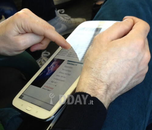 Samsung Galaxy Note 8.0 spy shots pop up