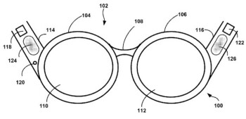 Image from Google's bone conduction patent
