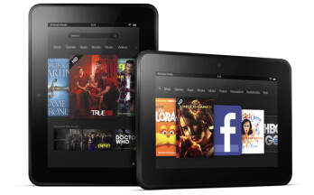 The Amazon Kindle Fire HD
