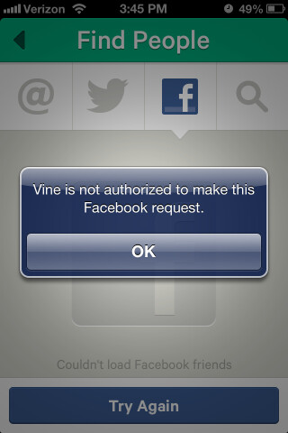 Facebook already cut off friend-finding for Twitter's Vine