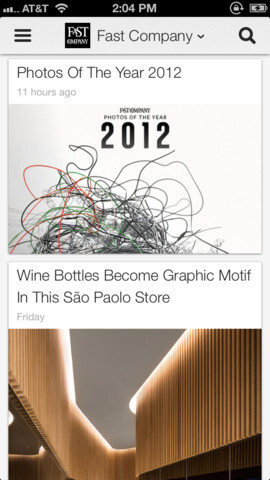 Beautiful new Google Currents UI moves from Android to iOS