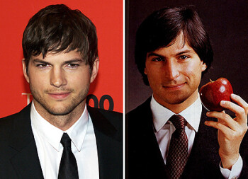 Ashton Kutcher was praised by the critics for his portrayal of Steve Jobs