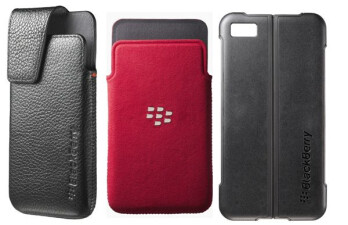 OEM cases for the BlackBerry Z10