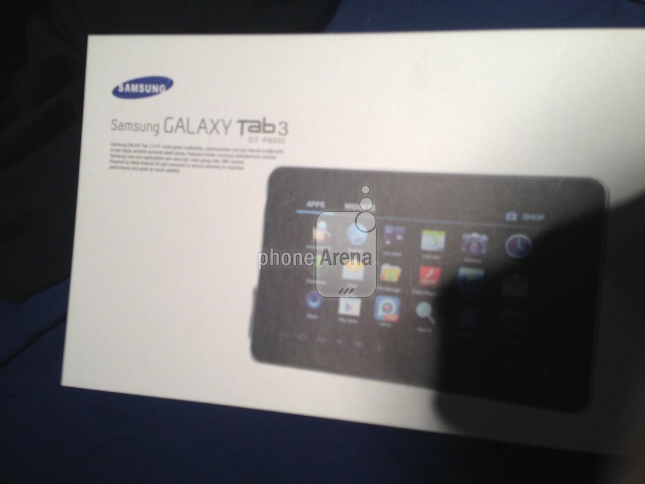 Alleged Samsung Galaxy Tab 3 pics appear ahead of MWC
