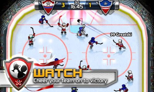 Big Win Hockey - Android, iOS - Free