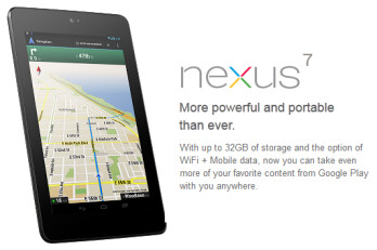 A sequel to the Google Nexus 7 will be introduced in May