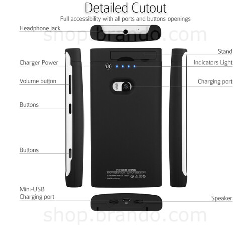 Nokia Lumia 920 battery case