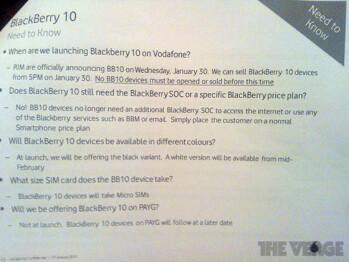 BlackBerry Z10 orders in the UK will begin on January 30