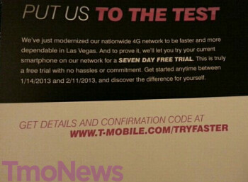 The trial requires the use of an unlocked phone