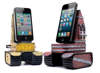 Charge your iPhone with a tank