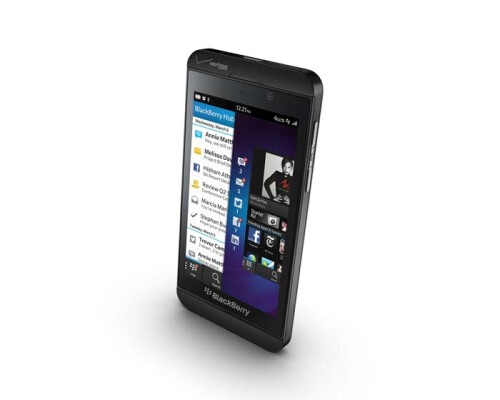 BlackBerry Z10 is here: all-touch and with 70,000 BB10 apps behind it