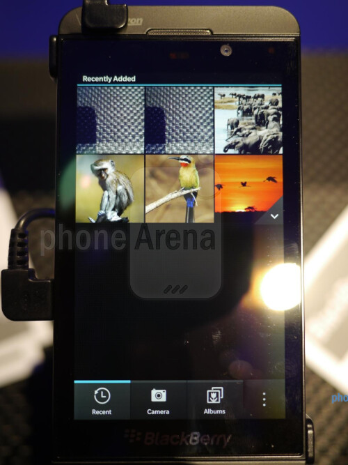 BlackBerry Z10 hands-on