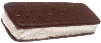 We interrupt this program to bring you an ice cream sandwich.