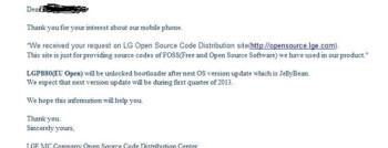 LG Optimus 4X HD getting Jelly Bean update in Q1 2013?