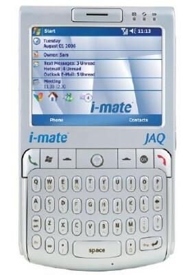 New i-mate QWERTY Pocket PC phone - the JAQ