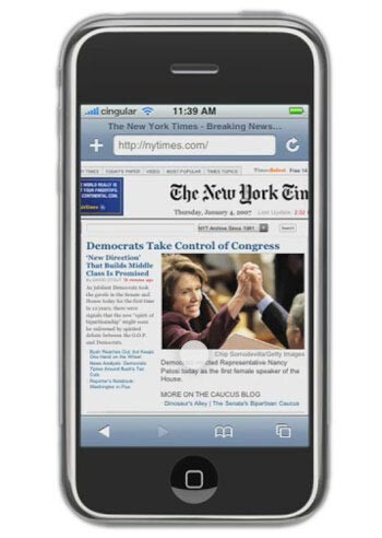 Ever since day one, the mobile Safari browser was seen as the one to beat