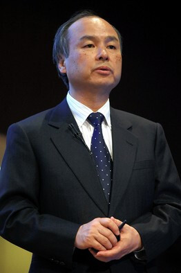 SoftBank CEO Masayoshi Son has $20 billion riding on Sprint
