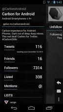 Screenshots for Carbon