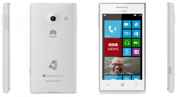 Windows Phone 8 landgrab starts with a $150 Huawei 4Afrika - rebranded Ascend W1