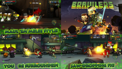 Call of Mini: Brawlers - Android, iOS - Free/$0.99