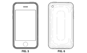 ...and the rounded corner design of the original Apple iPhone