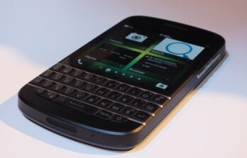 The BlackBerry Q10 could launch as early as next month