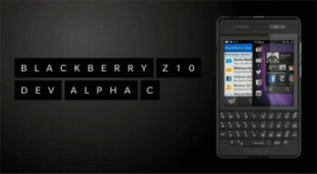 The BlackBerry Dev Alpha C