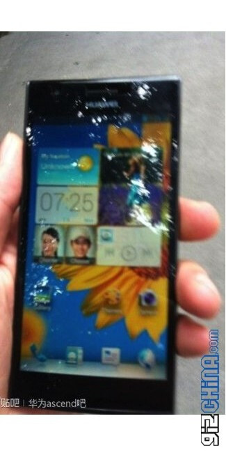 Leaked photos of the Huawei Ascend P2 - High-end Huawei Ascend P2 smartphone might cost only $480