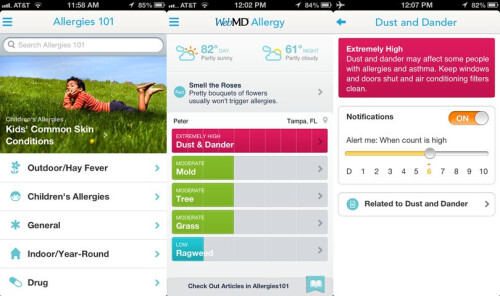 WebMD Allergy - iOS - Free